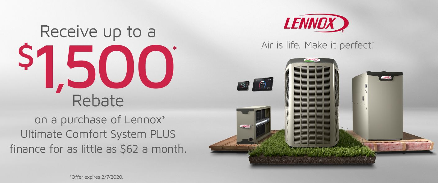 Lennox Customer Rebate Program!