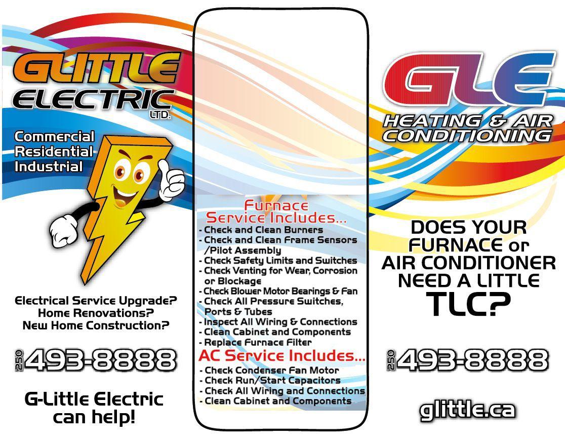 GLittle Electric Preventative Maintenance Program HVAC Flyers